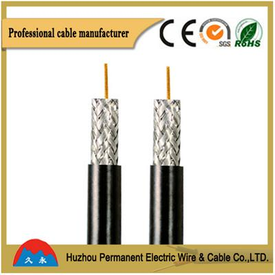 PVC Insulated Flexible Round Multi-core Coaxial Cable