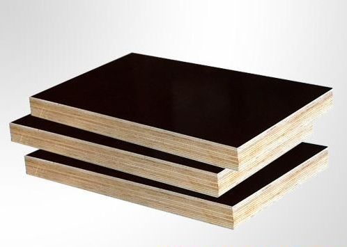waterproof brown with logo concrete formwork film faced plywood
