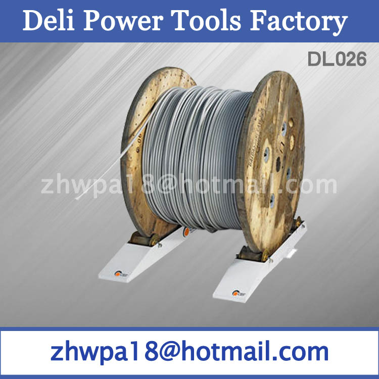Cable-drum take-off rollers Drum Roller Rails manufacture