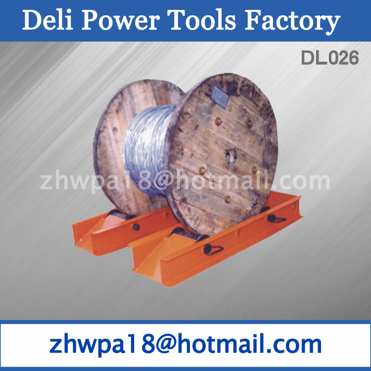 High Duty Drum roller ramps Cable Drum Platform