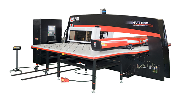 .CNC Turret Punch Press HVT Hydraulic CNC Turret Punch Press HVT-300