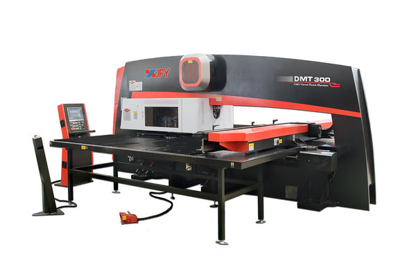 Turret Punch Press Machine DMT Series Dual-Motor Driven Turret Punch Machine DMT-200