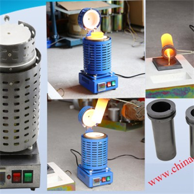 Mini Gold Silver Copper Furnace for Melting Metals