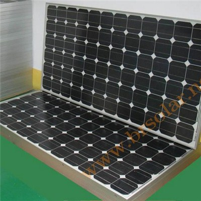 Poly And Mono Solar Modules