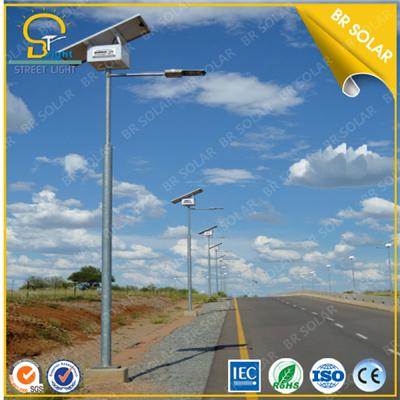 High Quality and powerful 36W solar light with 8M pole