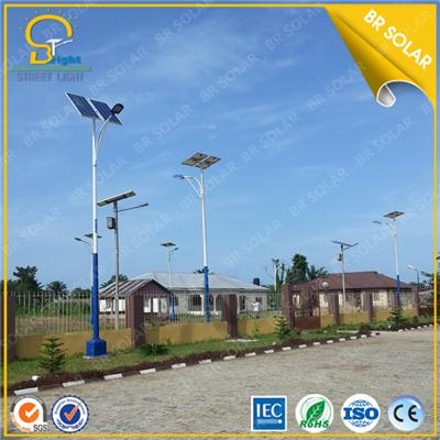 Yanzghou 10m pole 80W LED solar light Super brightness design