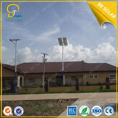 Powerful 80W LED solar light with 9m pole Super brightness design