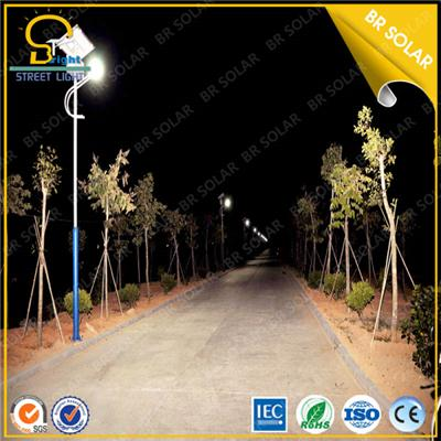 2015 the best 30W LED street light pole with 6M Pole for city