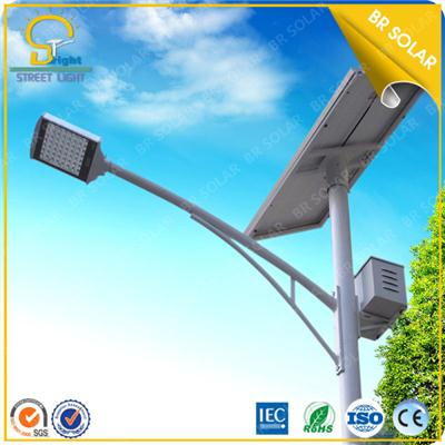 2015 Newest 60W street solar light 10M design from China factory