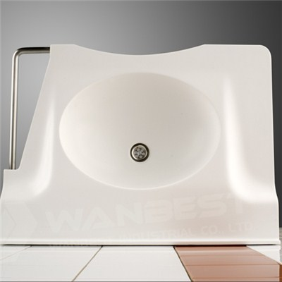 Hi Macs White Healthcare Sink