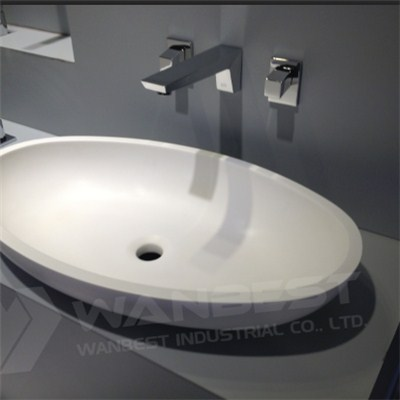Acrylic Artificial Stone Sink