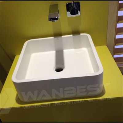 Square Artificial Marble Sink