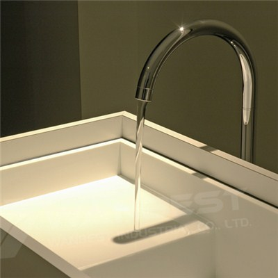 Corian-white-trough-washroom