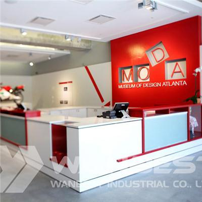 Customized Commercial Reception Desk