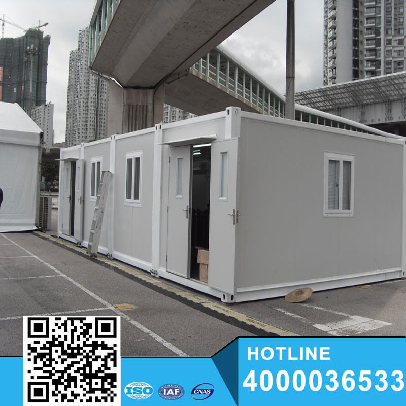 Cheap prefabricated 10ft container house/ prefab container house in south Africa