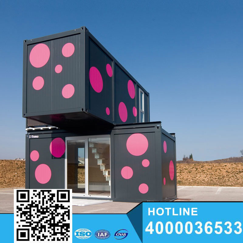 comfortable modern container villa/prefab house/prefabricated/modular homes