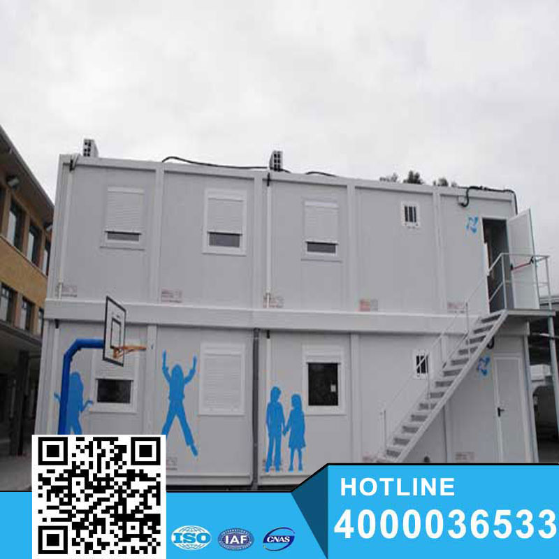 High Quality 20FT flat pack Sandwich Panel Expandable container house