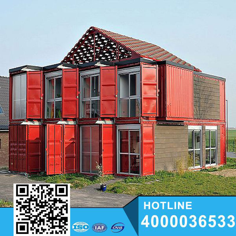 Luxury container villa , china prefab container houses,20ft construction container