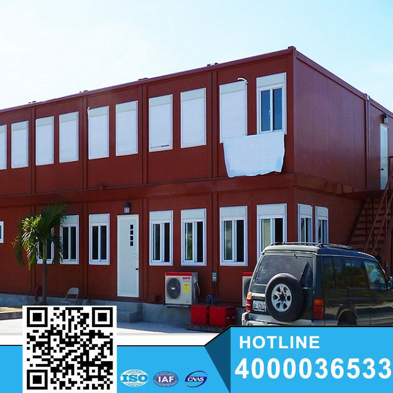 luxury ecofriendly prefabricated containerhouse for living