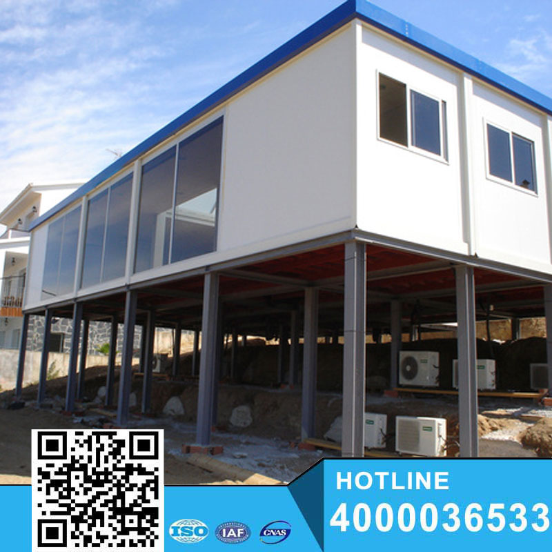 Mobile new prefab portable house living container house manufacturer
