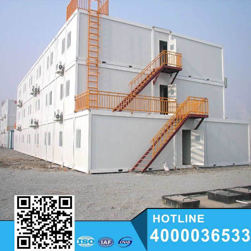 Sandwich Panel steel structure Container house/sandwich panel house 20FT container