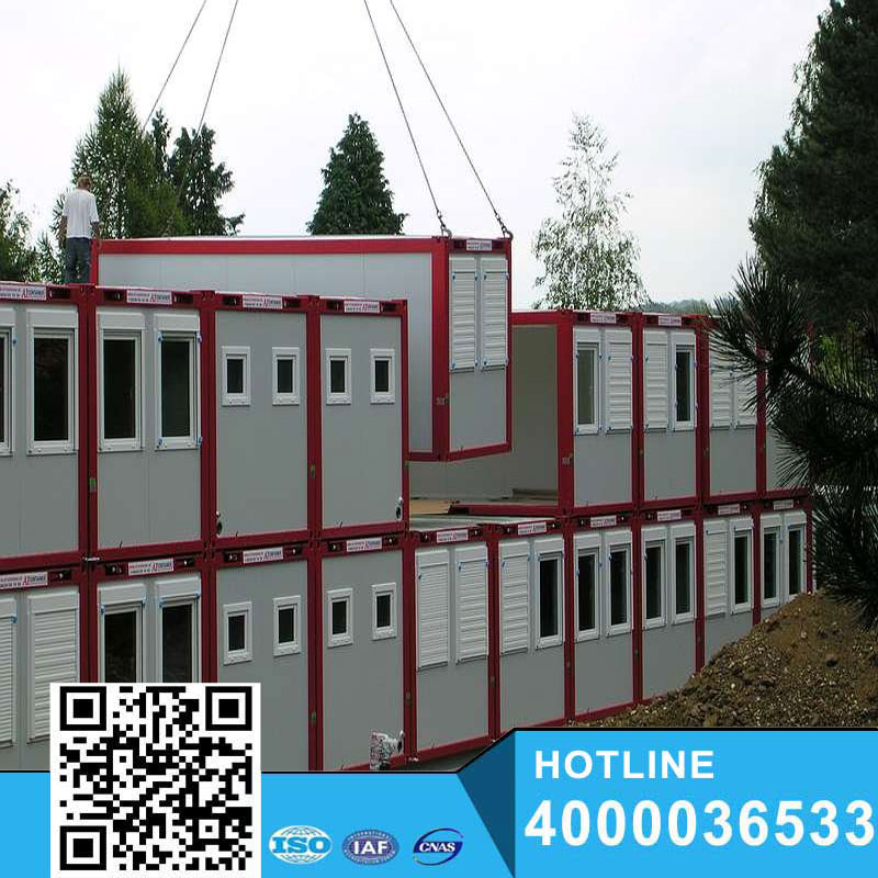 Shipping living shopping homes /Carport/coffee room Prefab steel container houses