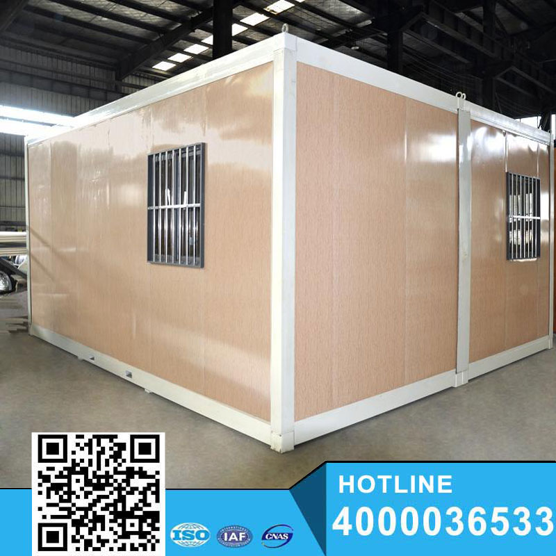 Modern flat roof 20ft Container Shop y easy assemble