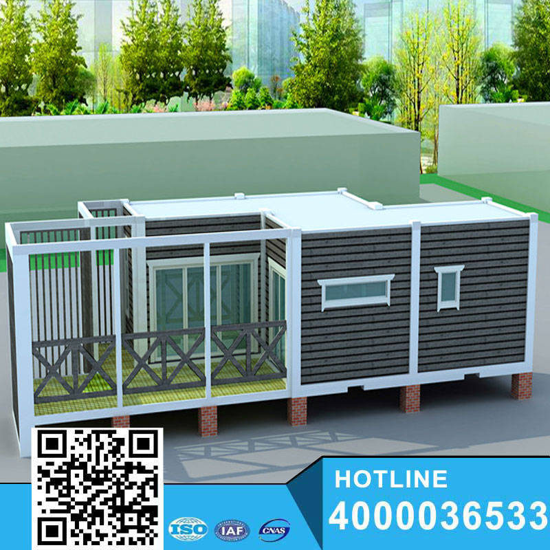 Modern Flat pack prefab container house cabin made in China