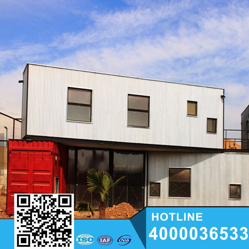 Hot Stell New House Design 40ft Anti earthquake Container