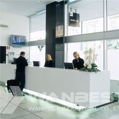 Corian Information Customized Counter White