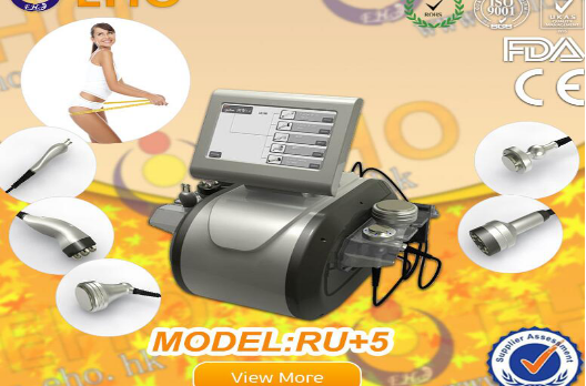 Multi-polar RF Vacuum Cavitation Body Shaping Beauty ultrasound slimming machine