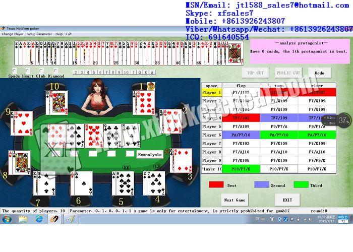 Poker software analysis