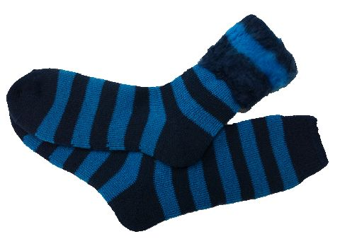 Acrylic Brushed Socks