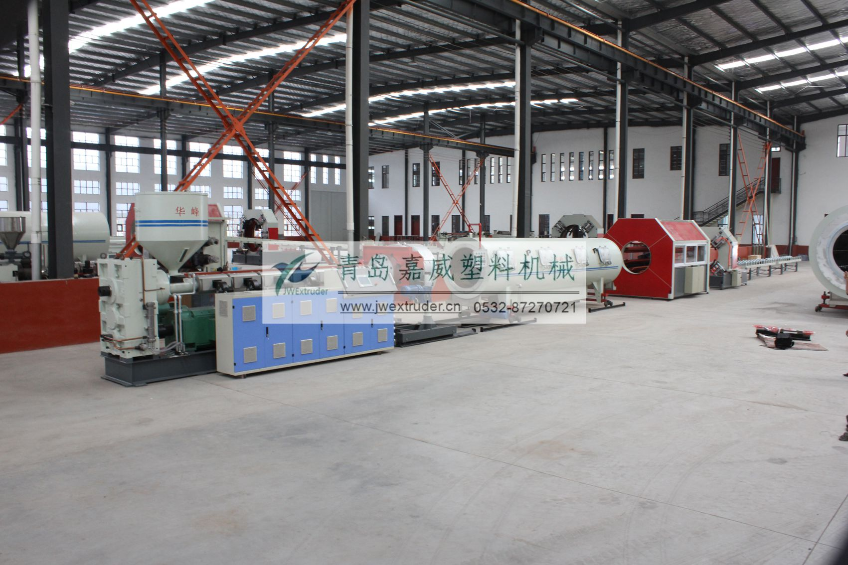 Large Diameter HDPE Insulation Pipe Extrusion Technology