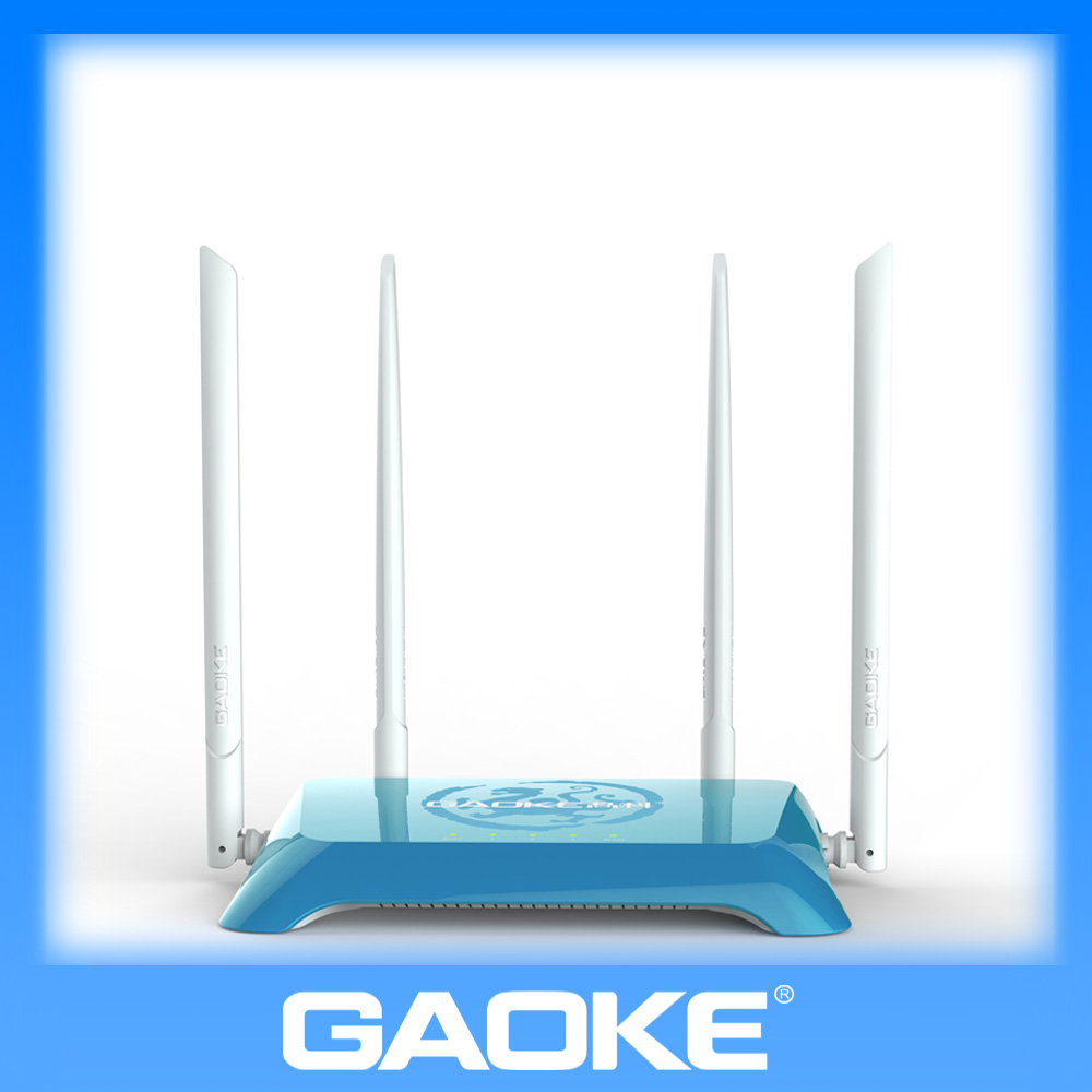 300Mbps 3 ports Gaoke W316 2T2R 300m wifi router