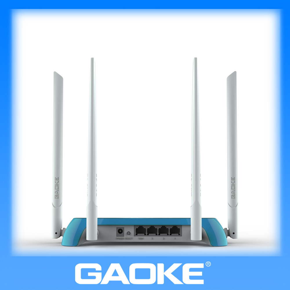802.11N 2.4GHZ wifi router with high gain 5Dbi detachable antennas