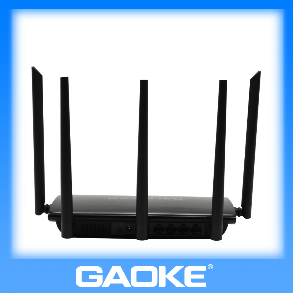 Low radiation 300Mbps 5 DBI wifi router