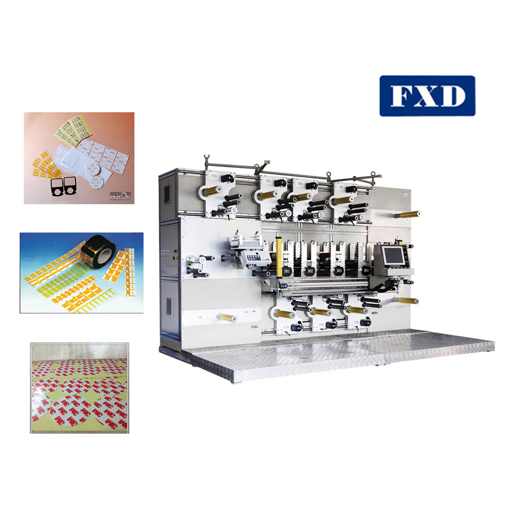 Rotary knife foam film tape die converting machine