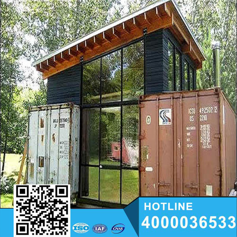 Nice flatpack prefab container house with different color and design on sale