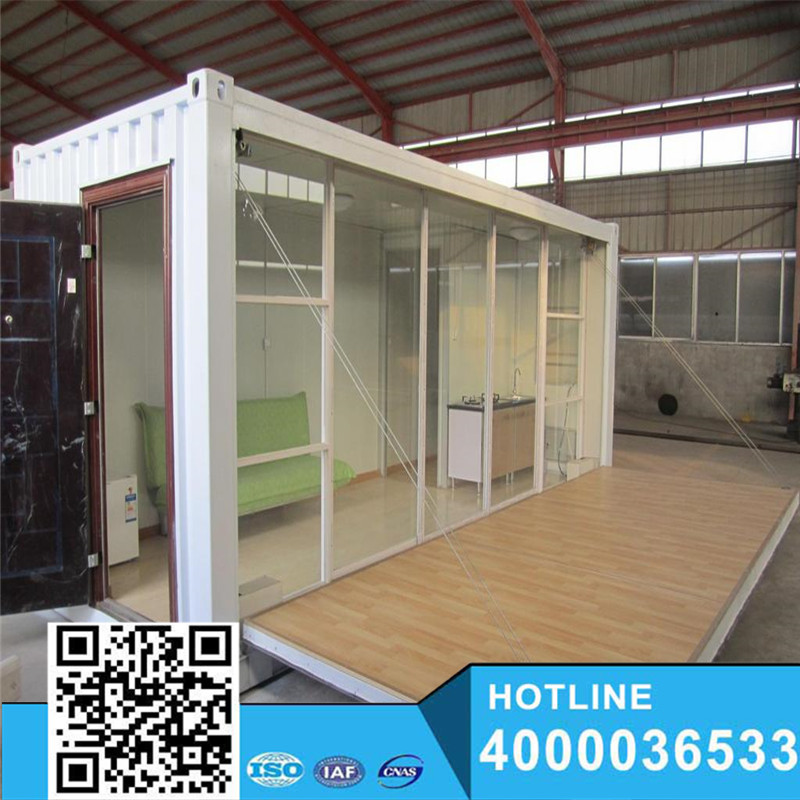 ISO9001 beautiful Prefabricated apartments building for sale