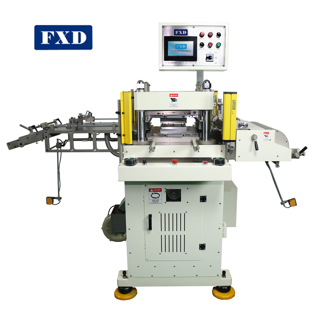 High Accuracy Trepan Boring Die Punching Machine