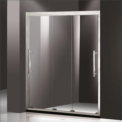 Shower Panel & Hinged Swivel With End Panel