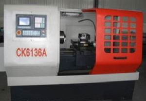 Hat Bed Series CNC Lathe CK6136