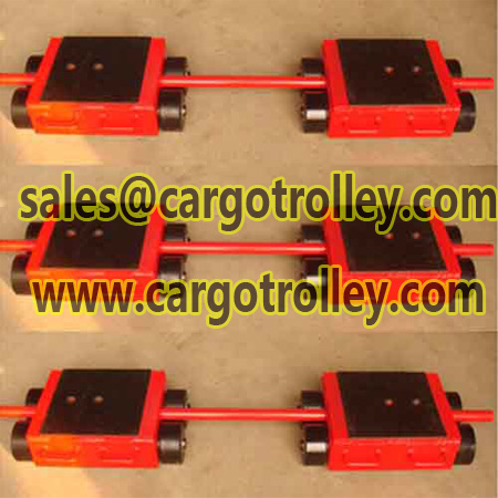Heavy duty cargo trolley introduce and details