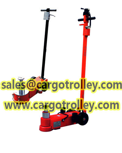 Air car jack easy to operate and safety