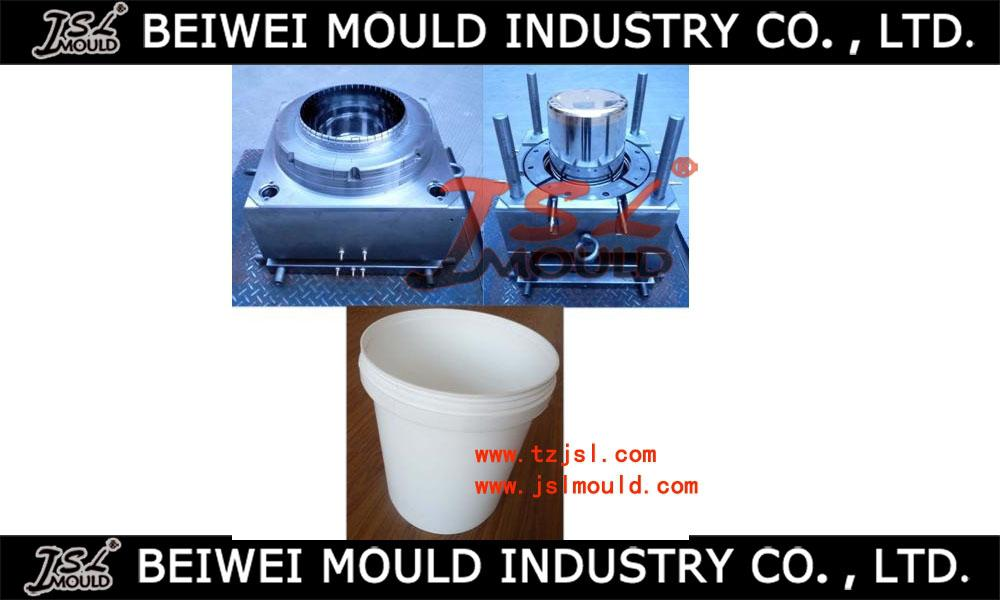 20L Bucket cover&body Plastic Injection Mould