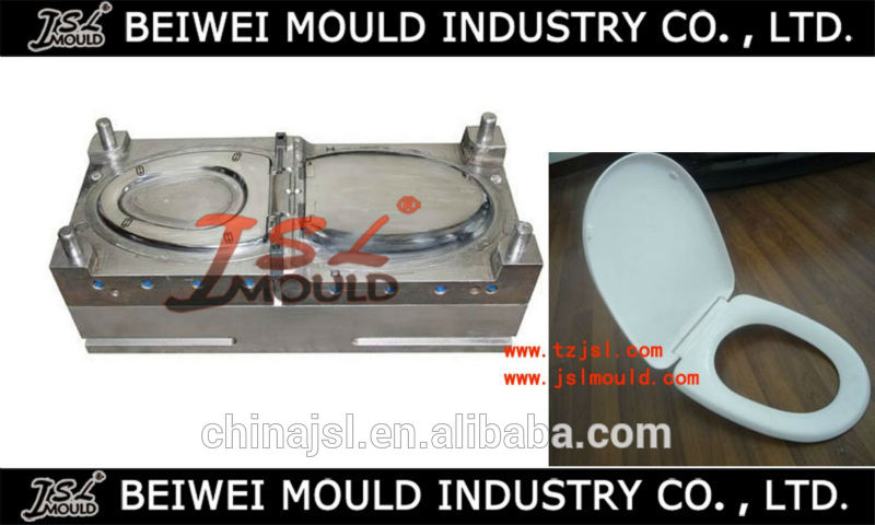 Plastic Toilet Seat&Cover good quality injection mould