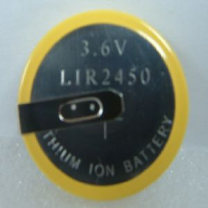LIR2450 Li-ion Button Cell Battery