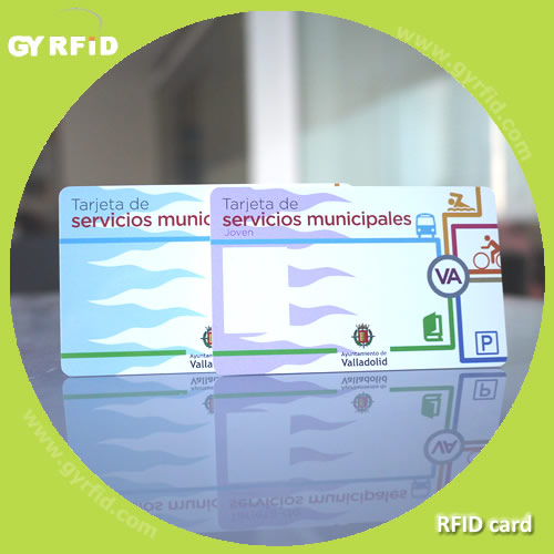 ISO T5577  radio frequency identification Smart card for Parking System ( GYRFID )