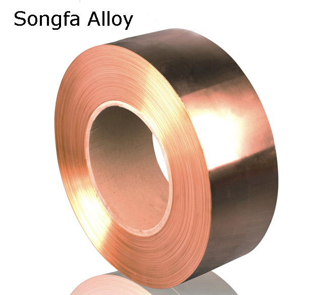Copper-steel-copper Composite Strip